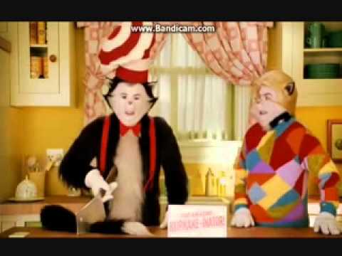 cat in the hat chop off warren t and his own tail youtube