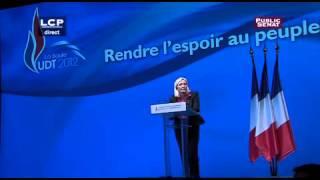 Discours de Marine Le Pen FN - La Baule