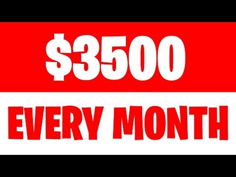 EARN $3500 PER MONTH (MAKE MONEY ONLINE NOW)
