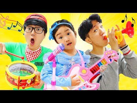 Boram Pretend Play w/ Music Toys
