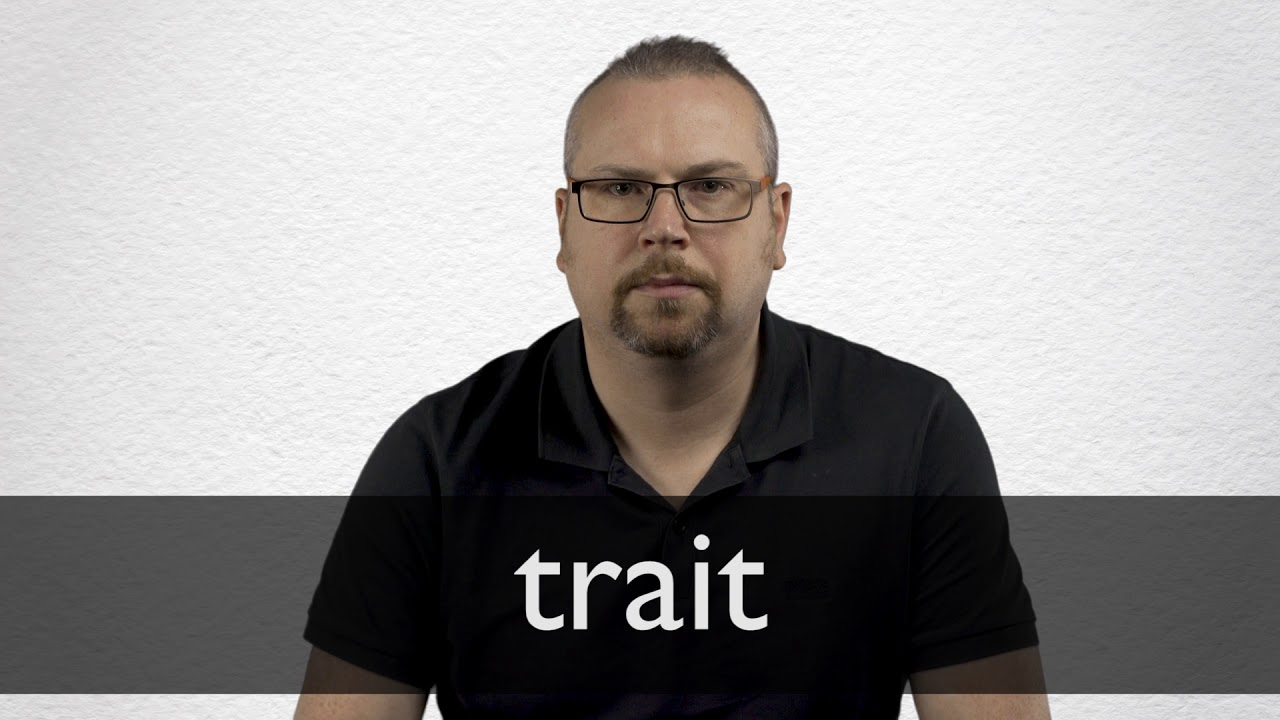How to pronounce TRAIT in British English