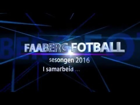 Faaberg Fotball Introvideo