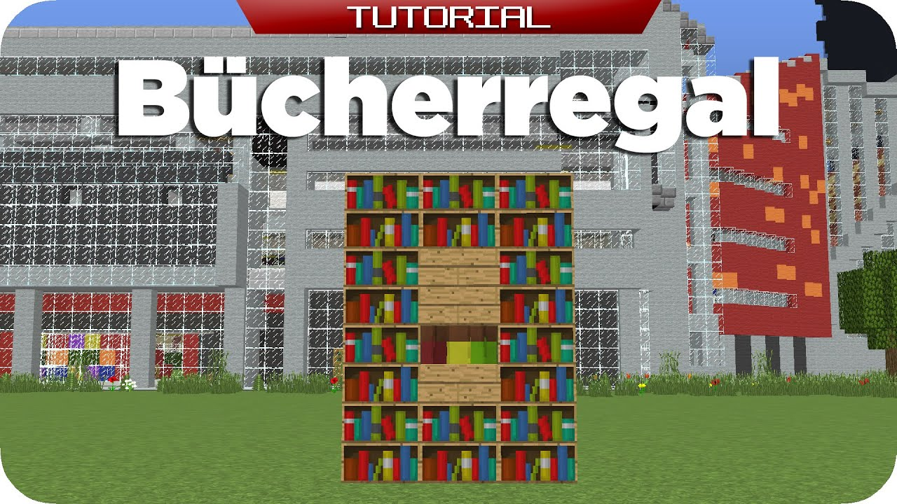 Spezielles Bucherregal Minecraft Tutorial De Youtube