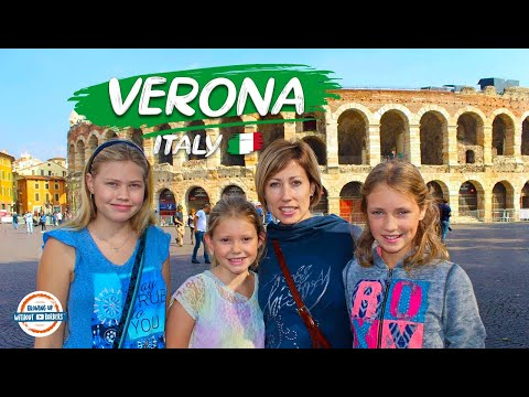 Discover Verona Italy - The City of Love & Letters to Juliet   90+ Countries with 3 Kids