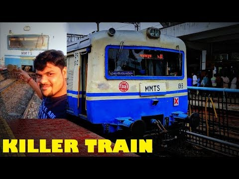 KILLER TRAIN ! Onboard MMTS [HYDERABAD LOCAL TRAIN] Secunderabad to Kacheguda