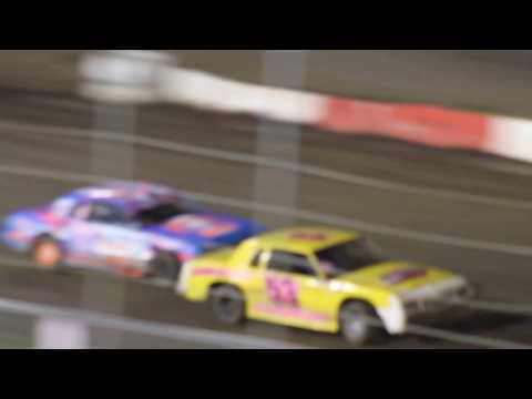 MVI 6196   I 80 SPEEDWAY 4/21/2017  STOCK CAR FEATURE PART #5