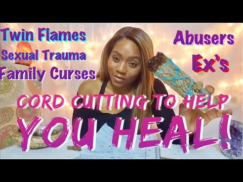 How To Cord Cut Twin Flames, Soul Mates & Negative Fam&Friends! +Chef Yah-I/Vegan Flava Cafe