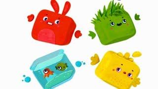 Четверо в кубе - Есть контакт -  Премьера мультика  - 1 эпизод - познавательный мультфильм для детей