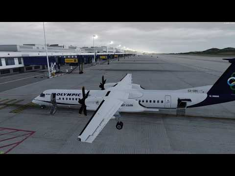 Mistakes were made. q400 into amazing 29 Palms Skiathos in p3d v4.1