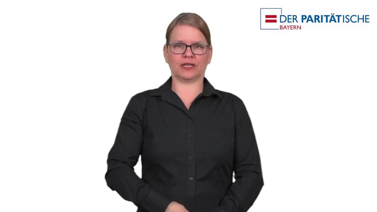 Der Paritaetische In Bayern Wer Wir Sind Gebardensprachfilm Youtube