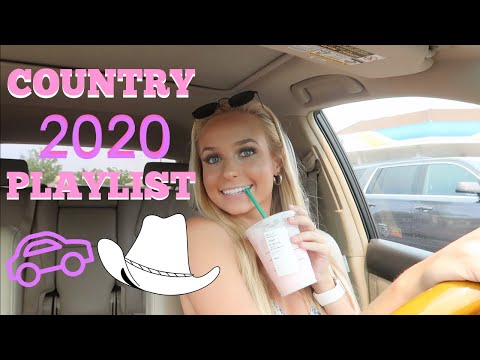 SUMMER 2020 COUNTRY PLAYLIST + DRIVE WITH ME | GRACE TAYLOR