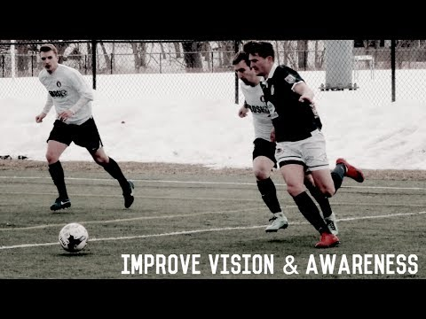 Visual Awareness Training For Footballers/Soccer Players | Improve Your Vision And Awareness