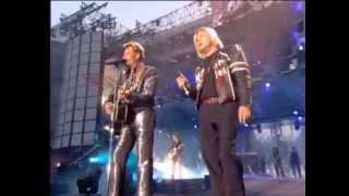 Renaud & Johnny Hallyday   Quelque chose de Tennessee