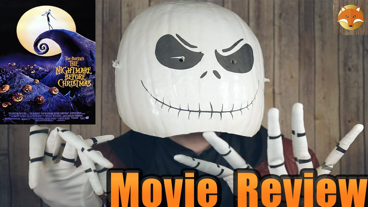 The Nightmare Before Christmas-Movie Review - YouTube