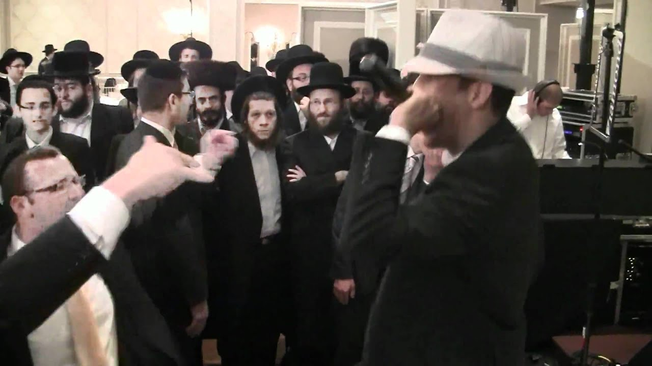 Moshe Yifate Singing Yoya With Evanal Orchestra At Akiva Salkowitz's Wedding.mp4
