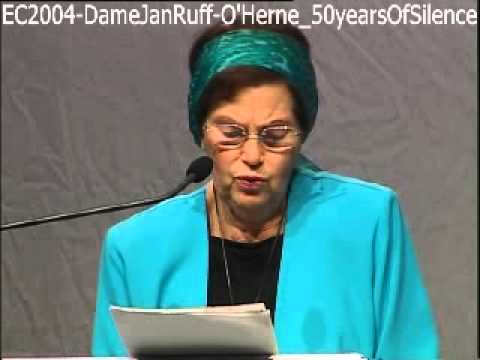 EC2004 - DameJanRuff-O'Herne - 50yearsOfSilence