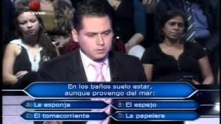 Quien quiere ser millonario: El Tomacorriente (Nixon Becerra...