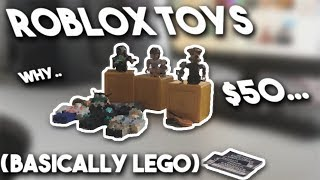ROBLOX EXCEPT IT'S IRL (Roblox Toys)