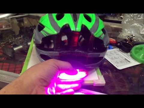 DB HELMET WITH SAFETY LIGHT