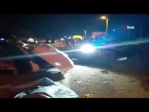 Ödemiş'te trafik kazası