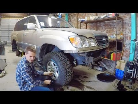 I LIFTED the Cheapest Land Cruiser in the USA