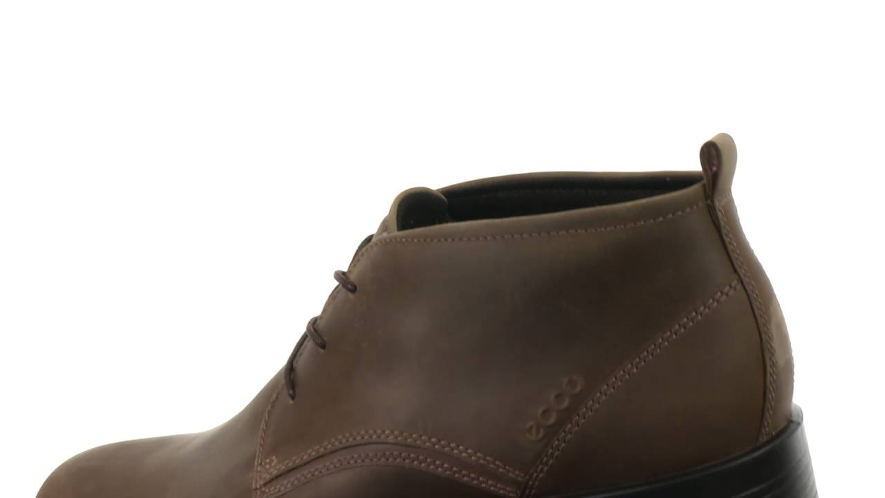 cb261070441c0 ECCO Harold Derby Boot SKU:8681075 - YouTube