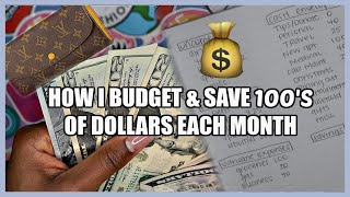How I Budget My Paycheck + Save Money (Budget With Me)