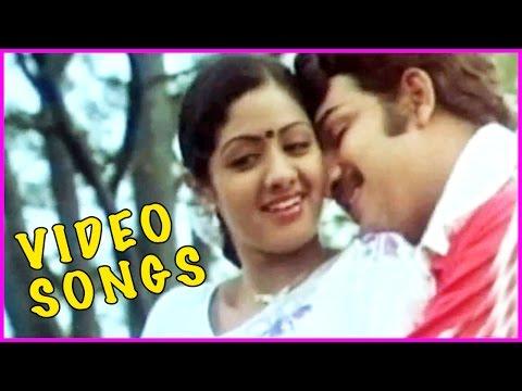 Pakalil Oru Iravu Tamil Superhit Video Songs Back 2 Back  - Vijayakumar, Sridevi