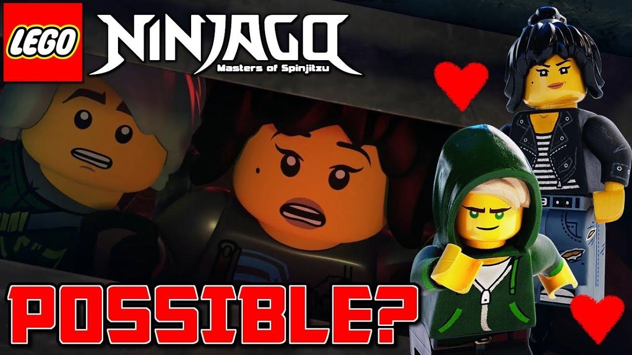 ninjago season 9 lloyd nya end up together ninjago hunted