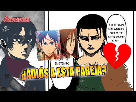 No era amor: Shingeki no Kyojin 112 ¿Mikasa no amaba a Eren?
