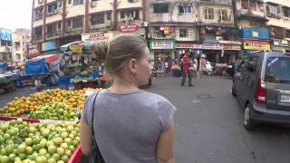 Мумбай, транспот по городу и главные достопримечательности Мумбая | Индия 7(Мы приехали в Мумбай всего на один день, это был наш пересадочный пункт, жильё здесь крайне дорогое, аренда..., 2014-12-10T14:16:17.000Z)