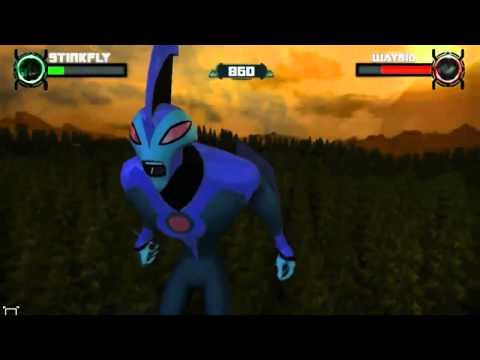 Флеш игры Бен 10 играть онлайн инопланетная сверхсила
