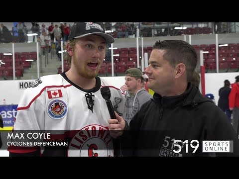 GOJHL - 1 on 1 interview with Max Coyle after winning the Sutherland Cup