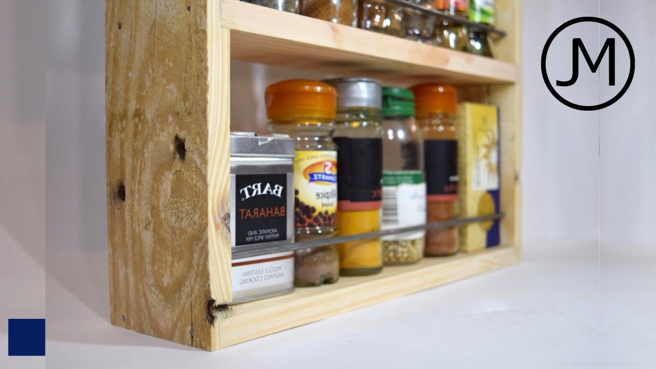 making rustic spice racks 46