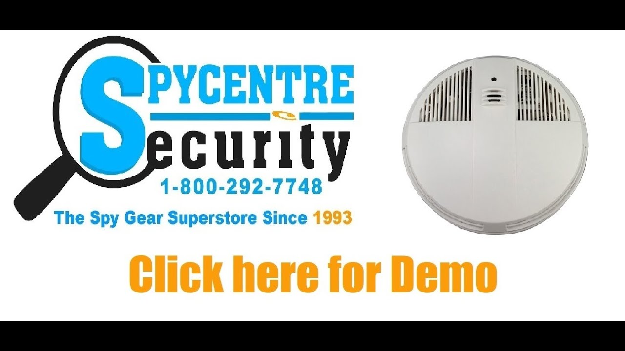 Wifi Smoke Detector Hidden Camera Down View Review Youtube Body Charge Spy Centre Security Cameras Of Dallas In Plano