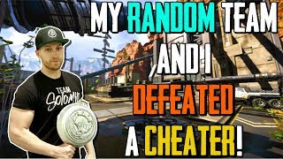My Random Team Defeated A Cheater! (Aimbot) Apex Legends