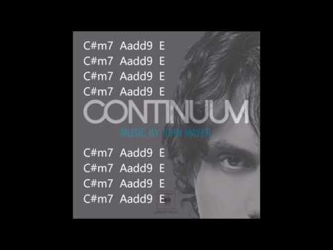 slow dancing in a burning room john mayer lyrics and chords - YouTube