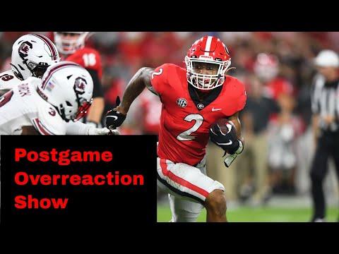 Georgia Football Postgame Overreaction Show: South Carolina