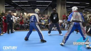NK B vs Avery Plowden - Team Sparring Rd 3 - AKA Warrior Cup 2017