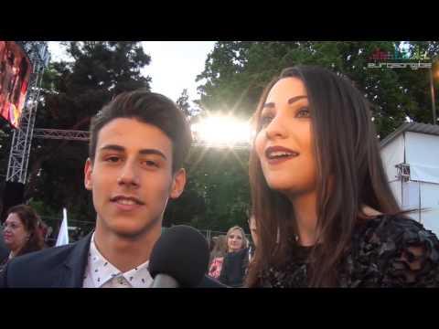 Interview Michele Perniola & Anita Simoncini in Vienna - San Marino Eurovision 2015