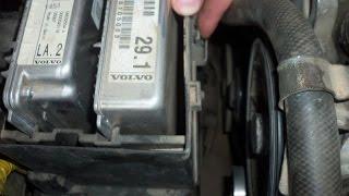Volvo S60 - Ошибка: CEM 8B01. Замена ламп головного света.