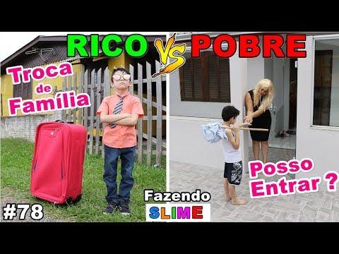 RICO VS POBRE FAZENDO AMOEBA / SLIME #78