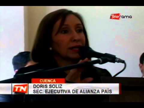 Consejales de Alianza País rinden cuentas