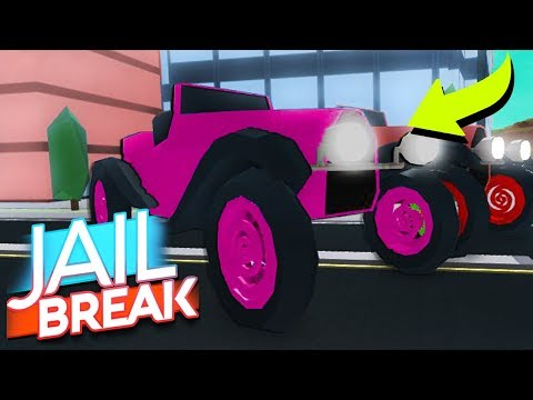 NEW $1MILLION VEHICLE IN JAILBREAK MUSEUM ROBBERY UPDATE!! (Roblox)