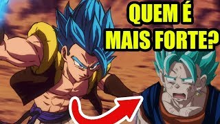 Gogeta SUPEROU Vegetto ? ANÁLISE DRAGON BALL SUPER BROLY