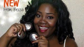 Becca Cosmetics | Muti-Tasking Perfecting Powder on Dark Skin | TheMindCatcher