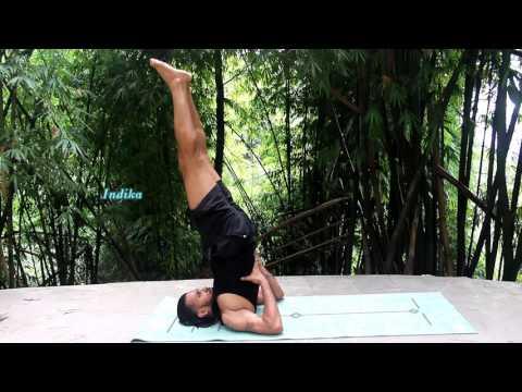 Indika turquoise jute yoga mat ashtanga sequence demonstration