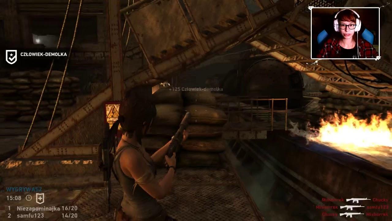 """[Archiwum] Live – Tomb Raider multi z widzami! (1) – [1/3] – """"Ania koks"""""""