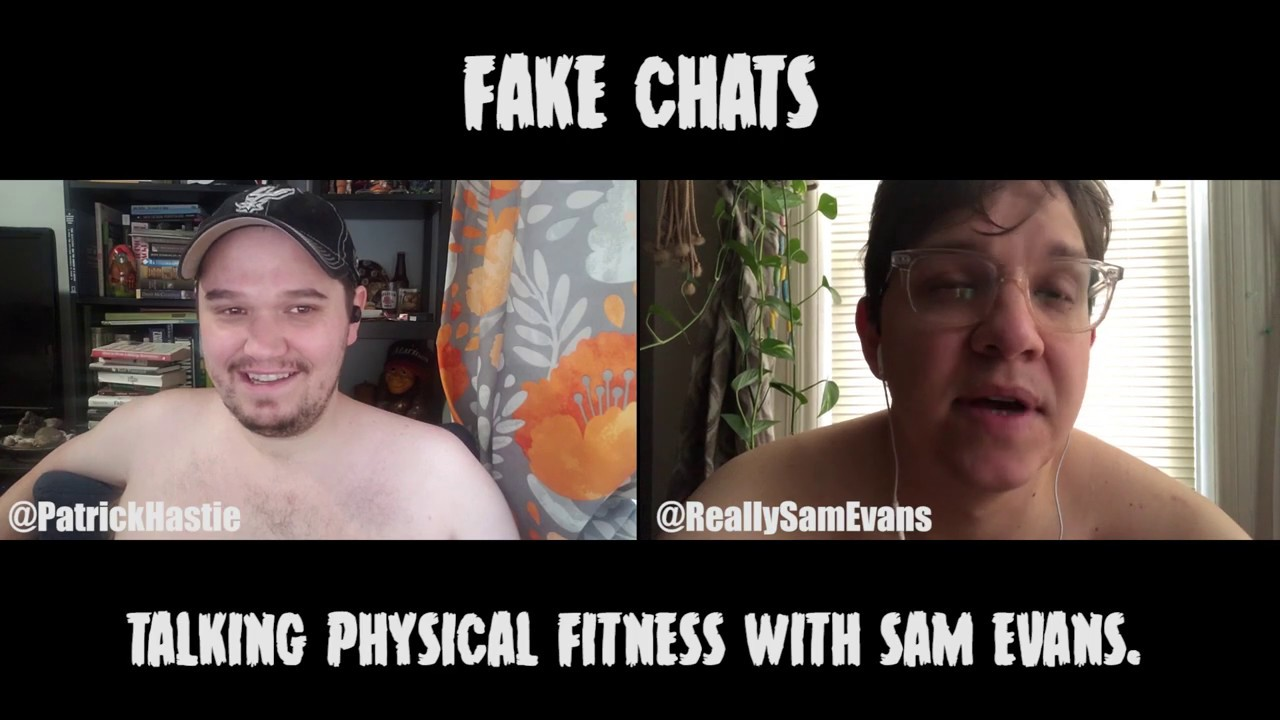 Comedians Talking Fitness | Fake Chats | Sam Evans