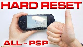 How to reset a PSP to factory settings | 4K | UHD